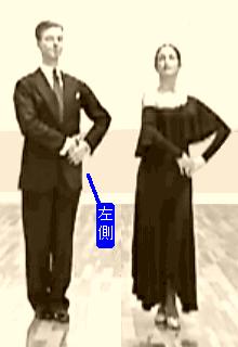 「社交ダンスタンゴポジション」の画像検索結果